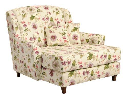 max winzer 2672 714 2045598 xxl jana liebes mega sessel blumenmuster floraler stoff retro. Black Bedroom Furniture Sets. Home Design Ideas