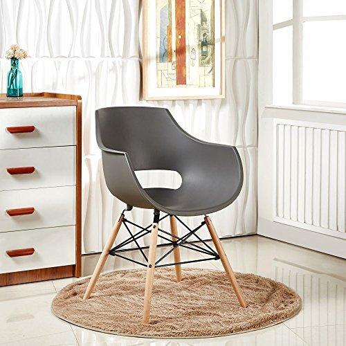 P N Homewares Modern Eiffel Style Moderner Esszimmer Lounge Stuhl