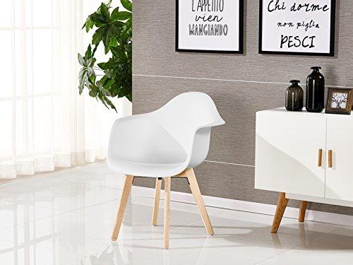 p n homewares rico da tub stuhl skandinavisch esszimmerstuhl b rostuhl wohnzimmer stuhl in. Black Bedroom Furniture Sets. Home Design Ideas