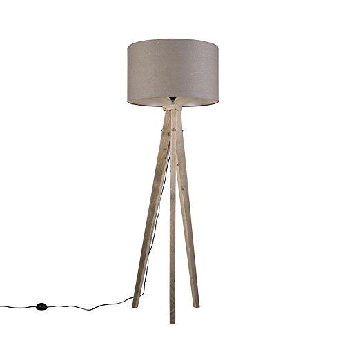 qazqa design landhaus vintage rustikal stehleuchte stehlampe standleuchte lampe. Black Bedroom Furniture Sets. Home Design Ideas
