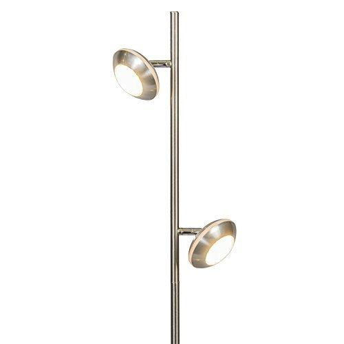 qazqa design modern stehleuchte mit leseleuchte stehlampe standleuchte lampe leuchte. Black Bedroom Furniture Sets. Home Design Ideas