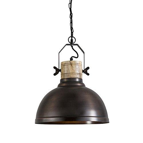 qazqa industrie landhaus vintage rustikal pendelleuchte pendellampe h ngelampe. Black Bedroom Furniture Sets. Home Design Ideas