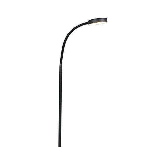 QAZQA Modern Stehleuchte mit Leseleuchte / Stehlampe / Standleuchte ...