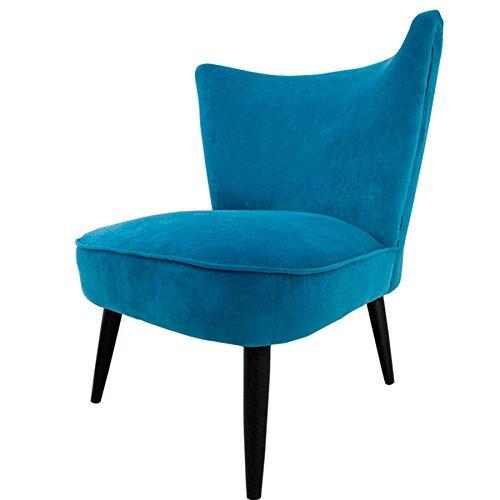stylischer retrosessel sixties samtstoff petrol polstersessel retro 60er blau retro stuhl. Black Bedroom Furniture Sets. Home Design Ideas