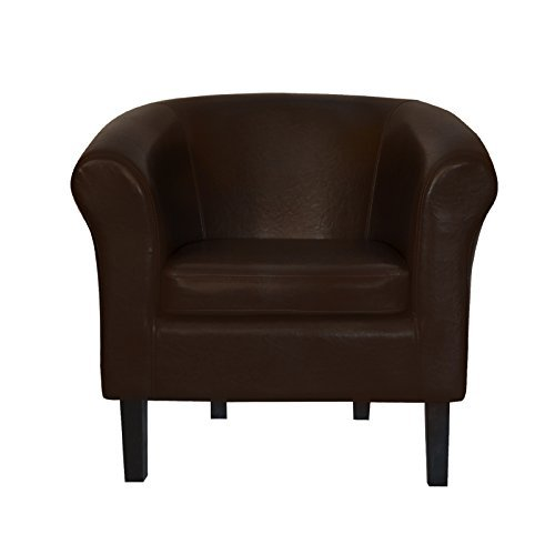 top sessel clubsessel loungesessel cocktailsessel monaco 2 braun w364 04 retro stuhl. Black Bedroom Furniture Sets. Home Design Ideas