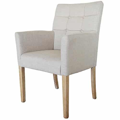 paris plus esszimmerstuhl mit armlehnen baumwolle leinen. Black Bedroom Furniture Sets. Home Design Ideas