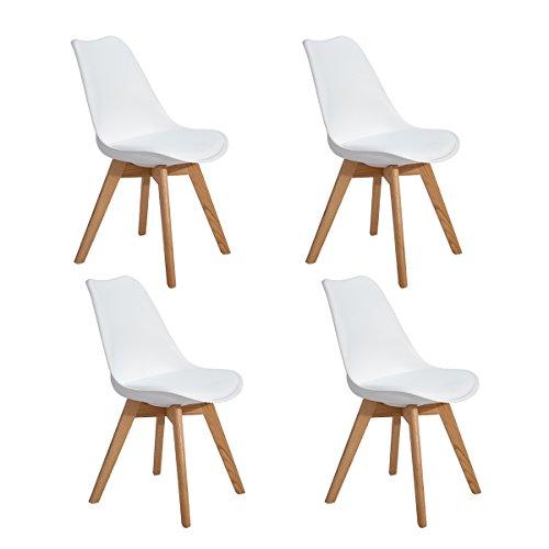 4er set esszimmerst hle mit massivholz eiche bein retro design gepolsterter lstuhl k chenstuhl. Black Bedroom Furniture Sets. Home Design Ideas