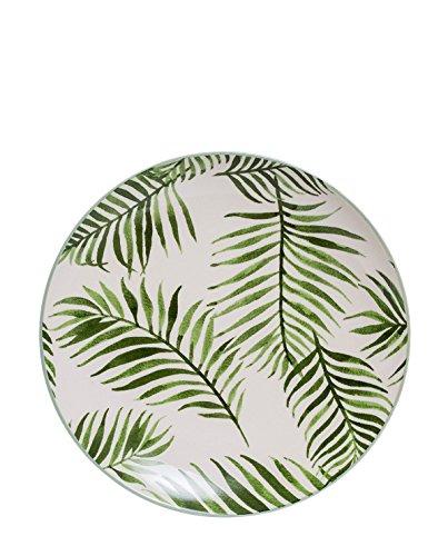Bloomingville Teller aus Keramik Jade grün 20cm