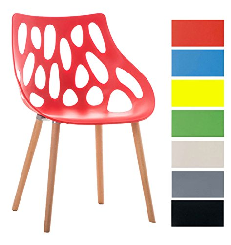 Clp design retro stuhl hailey max belastbar bis 150 kg for Stuhl 200kg belastbar