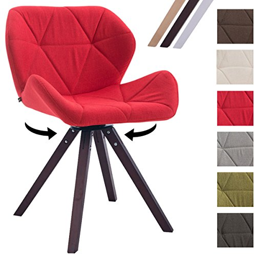 Clp design retro stuhl luke drehbar bein form square for Design stuhl form