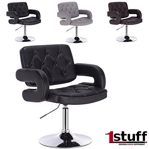 designer drehstuhl dallas von 1stuff 50cm sitzbreite. Black Bedroom Furniture Sets. Home Design Ideas