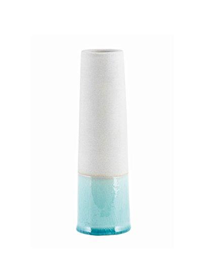 House Doctor - Vase - Blumenvase - Tube XS - Grau/Mint