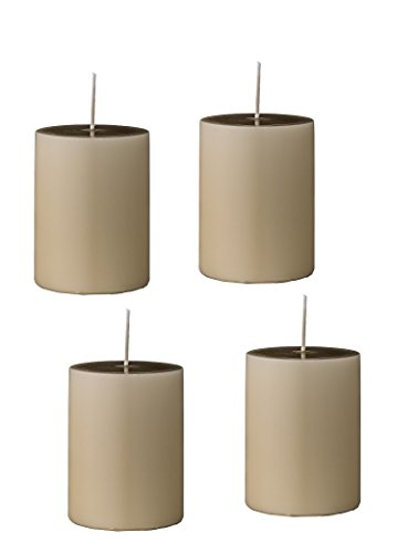Kerzen Blockkerze Stumpenkerze BLOCK CANDLE 4er Set Bloomingville