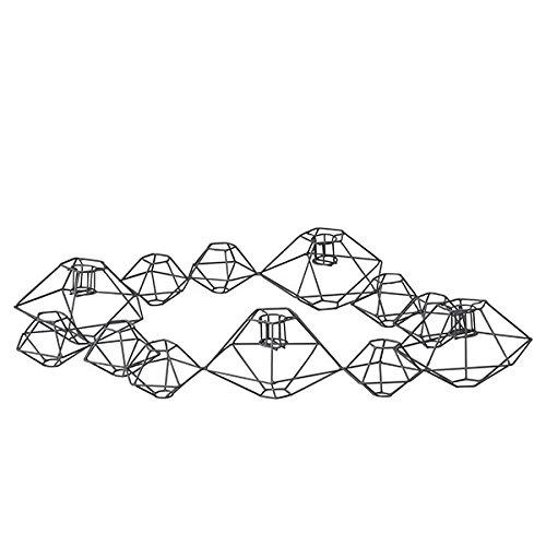 Kerzenhalter Pernille in Grau