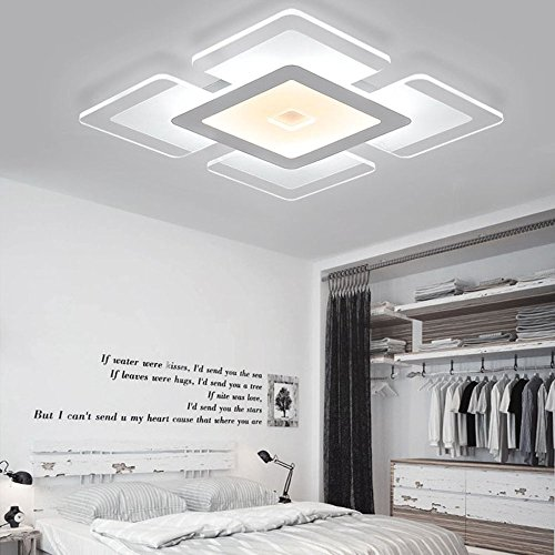 led deckenlampen leuchte modern design metall und acrylic deckenlampe stilrichtung beleuchtung. Black Bedroom Furniture Sets. Home Design Ideas