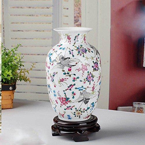 Luminous Pastell Von Hand Bemalt Porzellan Vasen Im Europäischen Stil Kreativität Amerikanisch Land Antike Beunruhigt Schmuck Keramik Schmuck Keramik Kunsthandwerk,B