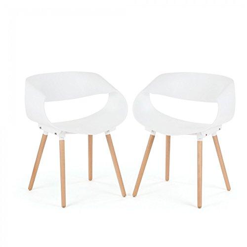 Makika retro stuhl design stuhl esszimmerst hle b rostuhl for Design stuhl bequem