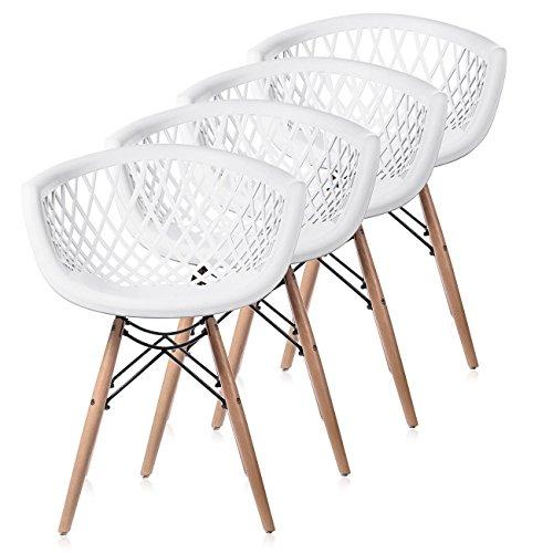 Makika retro stuhl design stuhl esszimmerst hle b rostuhl for Design lounge stuhl