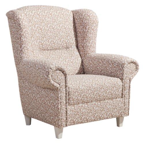 max winzer 65271100 merle ohrenbackensessel baumwollgewebe. Black Bedroom Furniture Sets. Home Design Ideas