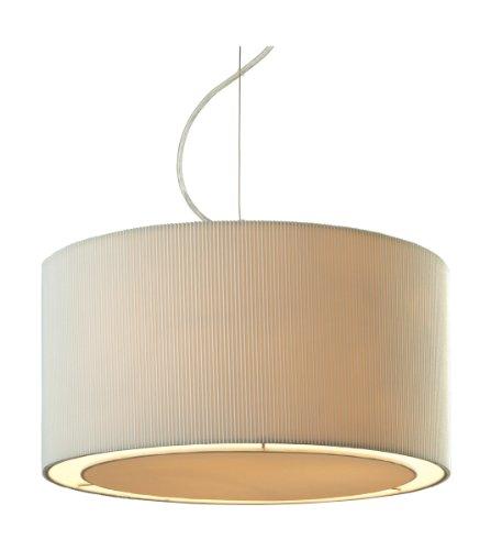 pendelleuchte 3 flammig clio farbe schirm cr me retro stuhl. Black Bedroom Furniture Sets. Home Design Ideas