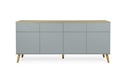 Tenzo 1678 676 dot designer sideboard holz pastellgr n for Sideboard untergestell
