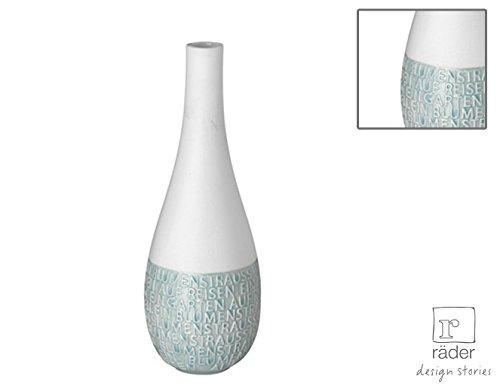 "Vase ""Linien"" mint, RÄDER"