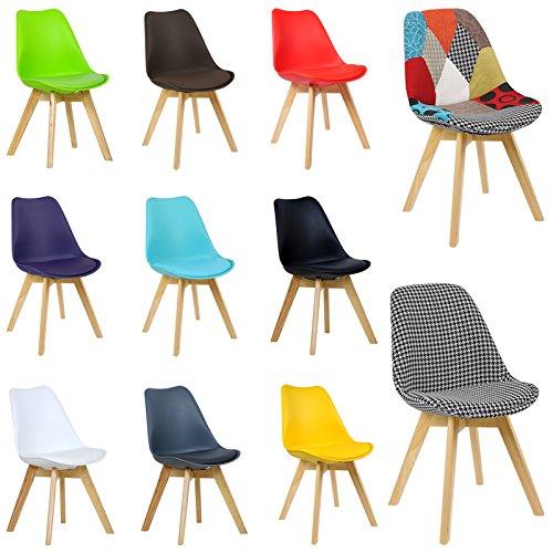 woltu 2er set esszimmerst hle bh29ws 2 c esszimmerstuhl design stuhl k chenstuhl holz neu. Black Bedroom Furniture Sets. Home Design Ideas