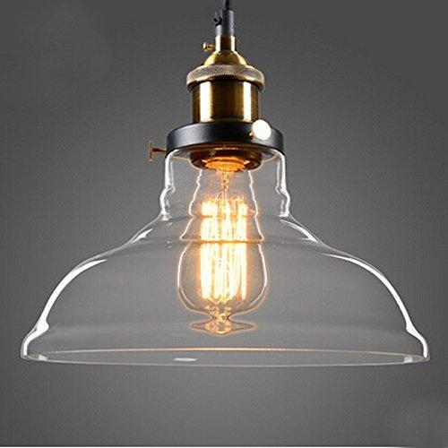 hahaemall innen klar glas antik messing mini anh nger licht lampenschirm leuchtmittel nicht. Black Bedroom Furniture Sets. Home Design Ideas