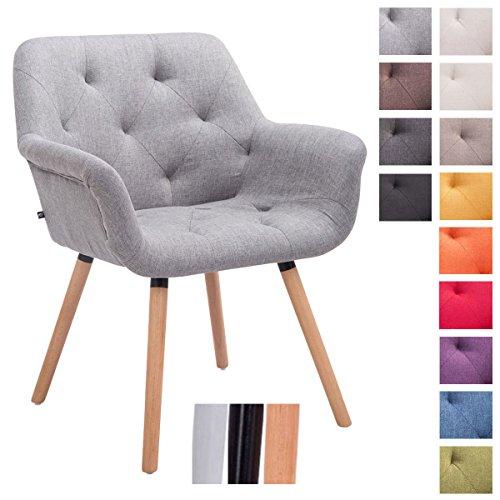 Retro stuhl stoff g nstig online bestellen retro stuhl for Armlehnstuhl grau stoff