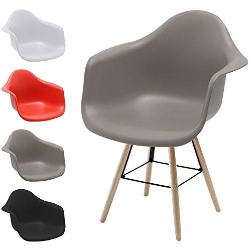 Hausstrahlung Retro Sessel Schalenstuhl Pop Art Deco Esszimmer Stuhl