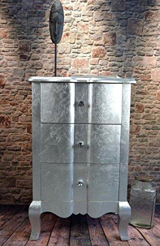 Livitat® Kommode mit 3 Schubladen H75 cm Pomp barock antik pompös Landhaus LV2026