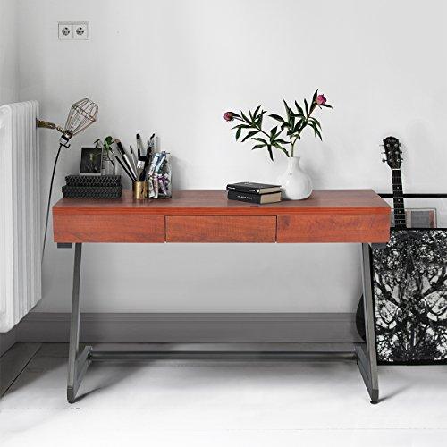 innovareds uk vintage style einfach 1 schublade multifunktionaler wohnzimmer flur konsole braun. Black Bedroom Furniture Sets. Home Design Ideas