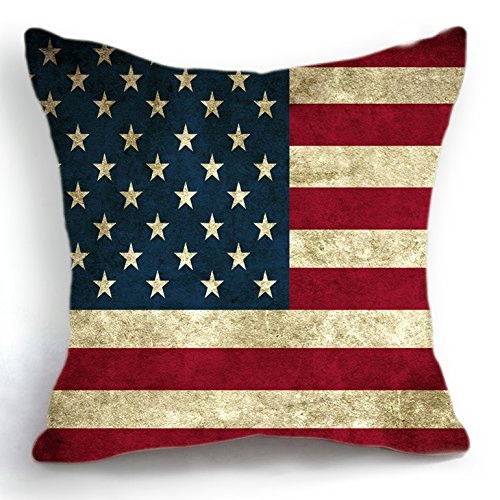 Telisha retro design usa american flagge home decor werfen for Home decor online shopping usa