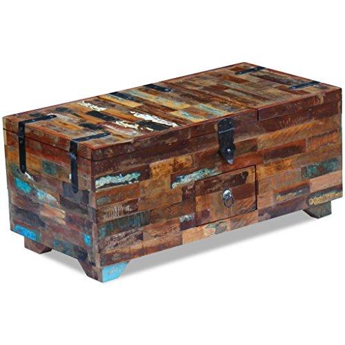 vidaxl couchtisch truhe beistelltisch sofatisch. Black Bedroom Furniture Sets. Home Design Ideas