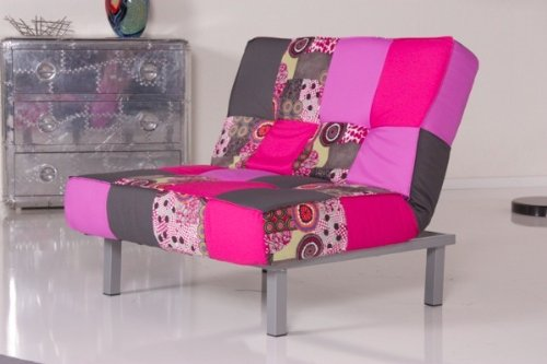 Sessel COLOUR 1er Sofa Stoff Patchwork