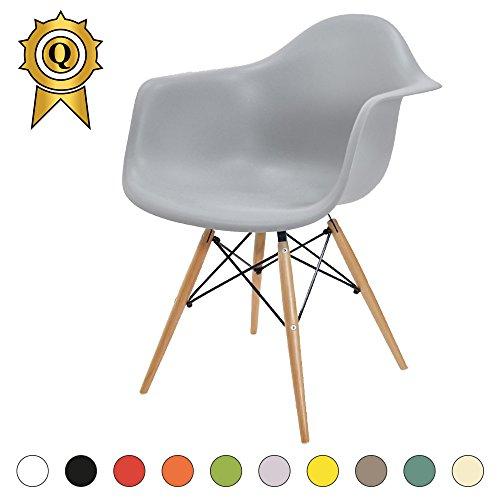 verkauf 1 x design stuhl eiffel stil natural wood beine