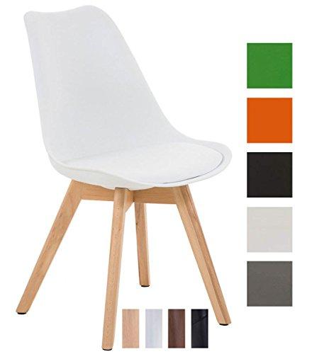 clp design retro stuhl borneo holzgestell sitz. Black Bedroom Furniture Sets. Home Design Ideas