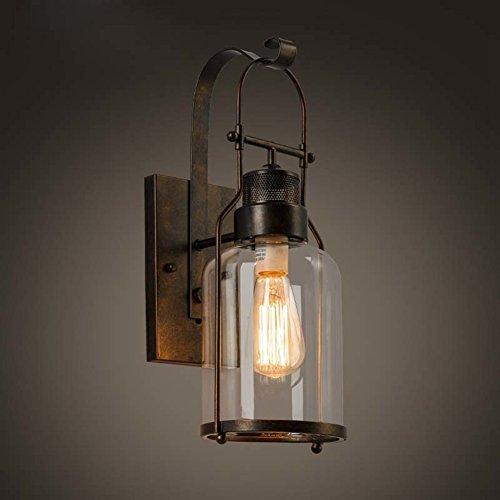 baycheer laterne retro vintage pendelleuchte h ngelampe industrie kronleuchter deckenlampe e27. Black Bedroom Furniture Sets. Home Design Ideas