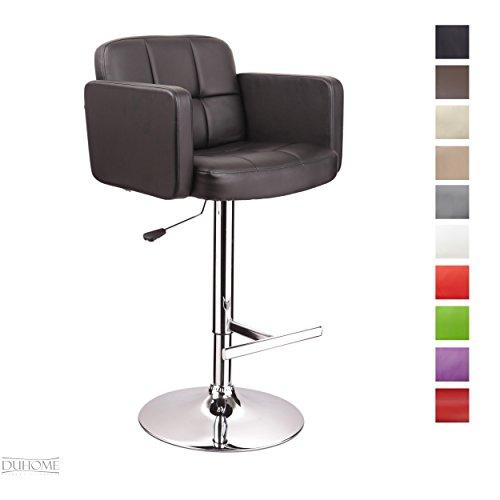 barhocker kunstleder schwarz barstuhl mit lehne. Black Bedroom Furniture Sets. Home Design Ideas