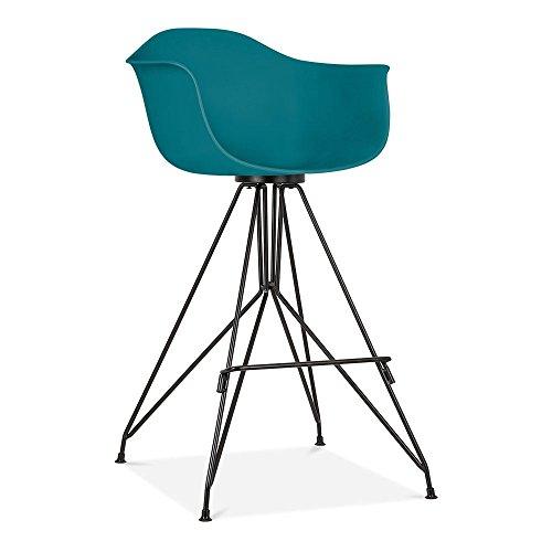 cult design moda barhocker mit armlehne cd1 petrol. Black Bedroom Furniture Sets. Home Design Ideas