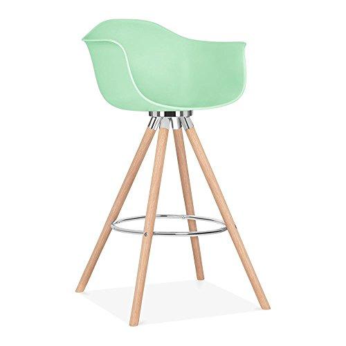 cult design moda barhocker mit armlehne cd2 pastellgr n. Black Bedroom Furniture Sets. Home Design Ideas