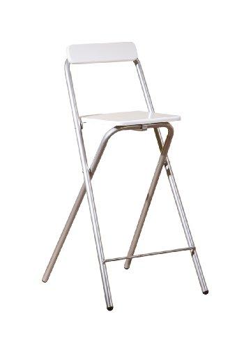 Inter Link 50901400 Bar-Stuhl Inet, weiß