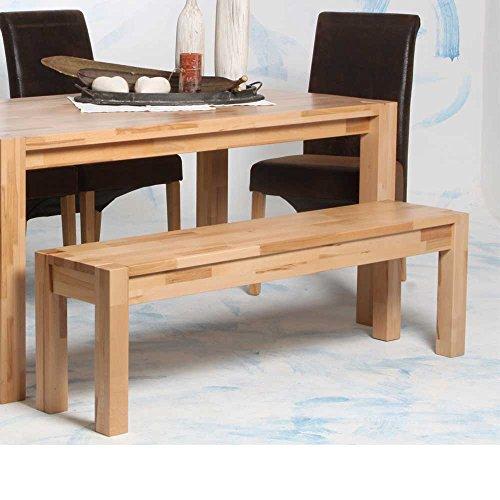 Küchenbank Bella aus Kernbuche Massivholz Breite 120 cm Pharao24