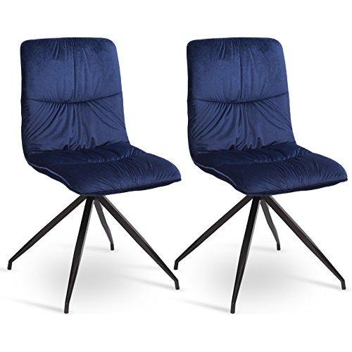 WOLTU® 2er Set Esszimmerstühle ...
