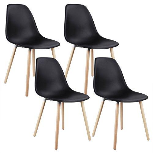 woltu 4 x esszimmerst hle 4er set esszimmerstuhl. Black Bedroom Furniture Sets. Home Design Ideas