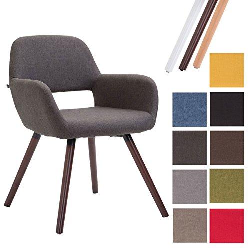 Esszimmerstuhl Tuva Kunststoffstuhl Wartezimmerstuhl Loft Chair Holzgestell