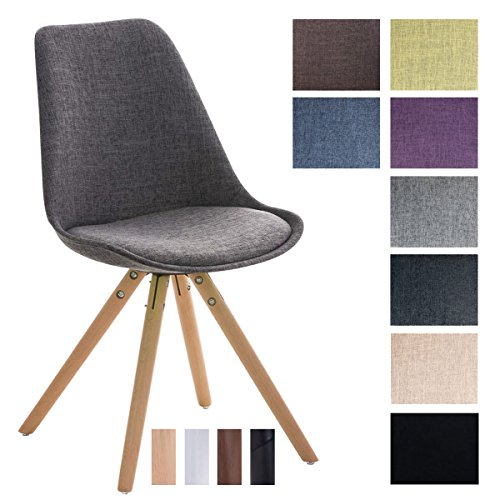 CLP Design Stuhl PEGLEG Mit Stoffbezug