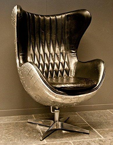 Casa Padrino Art Deco Egg Chair ...