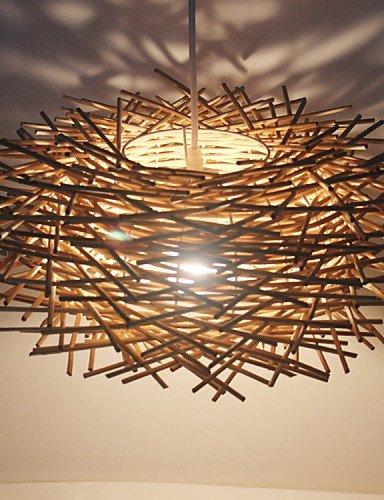 DXZMBDM® Zeitgenössisch / Traditionell-Klassisch / Rustikal/ Ländlich / Vintage / Retro / Laterne / Rustikal LED Holz/Bambus Pendelleuchten , 220-240v-wood