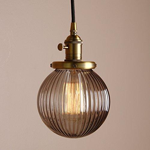 pathson antik design gestreifte kleine kugel grau glas. Black Bedroom Furniture Sets. Home Design Ideas